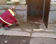 ЖЕД № 901: ремонт ганку