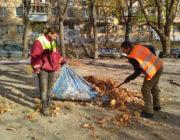 ЖЕД № 901: прибирання прибудинкових територій