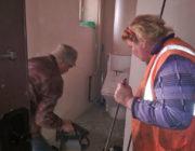 ЖЕД № 901: прибирання сходів