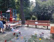 ЖЕД № 903: фарбування елементів дитячого майданчику