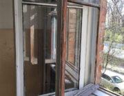ЖЕД № 901: скління вікна