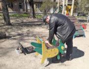 ЖЕД № 901: ремонт елементів дитячого майданчику