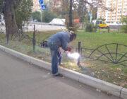 ЖЕД № 901: ремонт металевого паркану